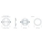 Светодиодный светильник ULTRA LED SP 2 15W 3000K регулируемый