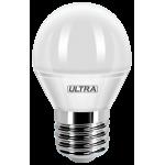 Светодиодная лампа ULTRA LED G45 5W E27 3000K